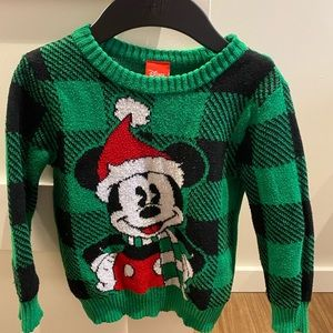 Disney toddler Christmas sweater size 3T